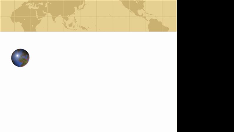 قالب تصميم الكرة الأرضية