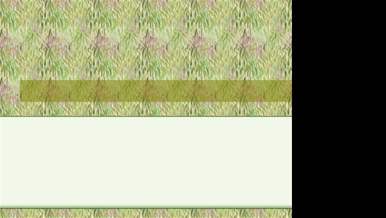 قالب تصميم الأرض الخضراء