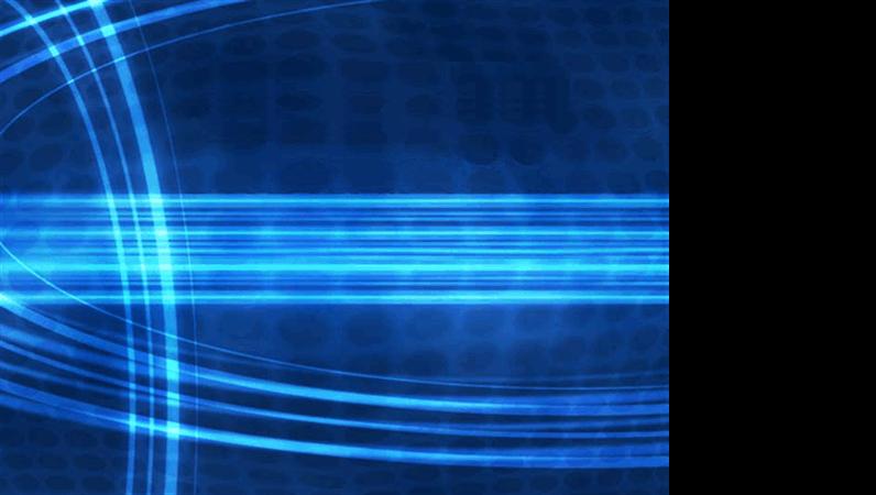 قالب تصميم الجدائل الزرقاء