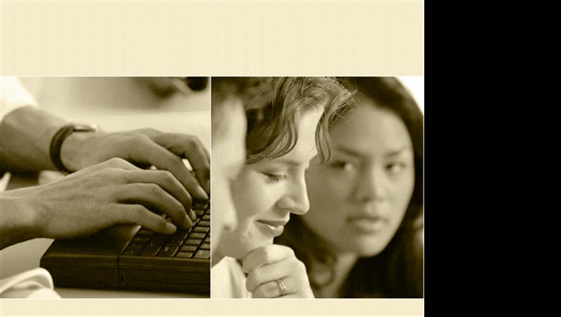 تصميم قالب التكنولوجيا في العمل