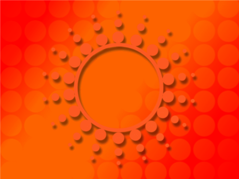 قالب تصميم بقع الشمس الضوئية