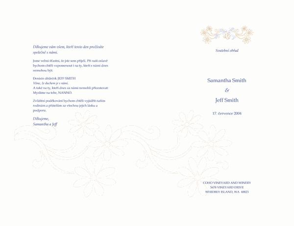 Program svatby