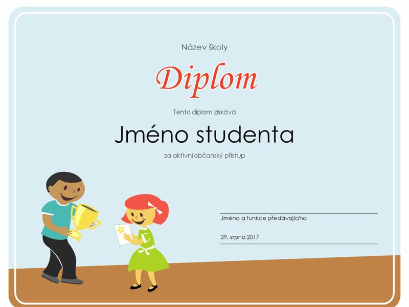 Diplom (žáci základní školy)