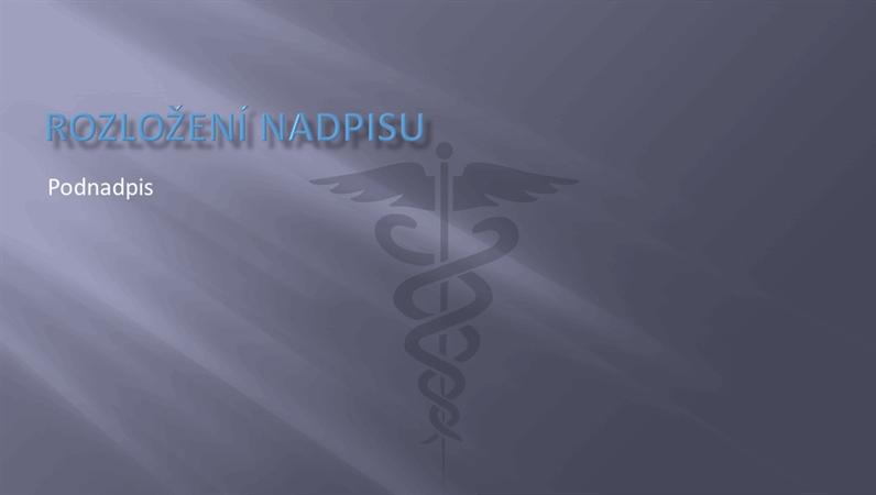 Snímky návrhu zdravotnické prezentace