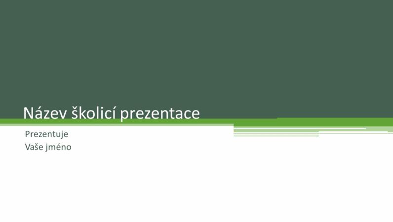 Školicí prezentace
