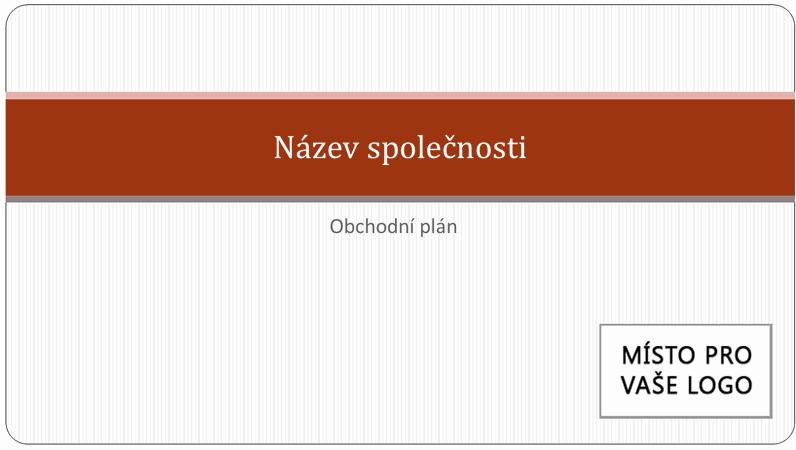 Prezentace obchodního plánu