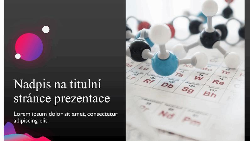 Prezentace s vědeckými zjištěními