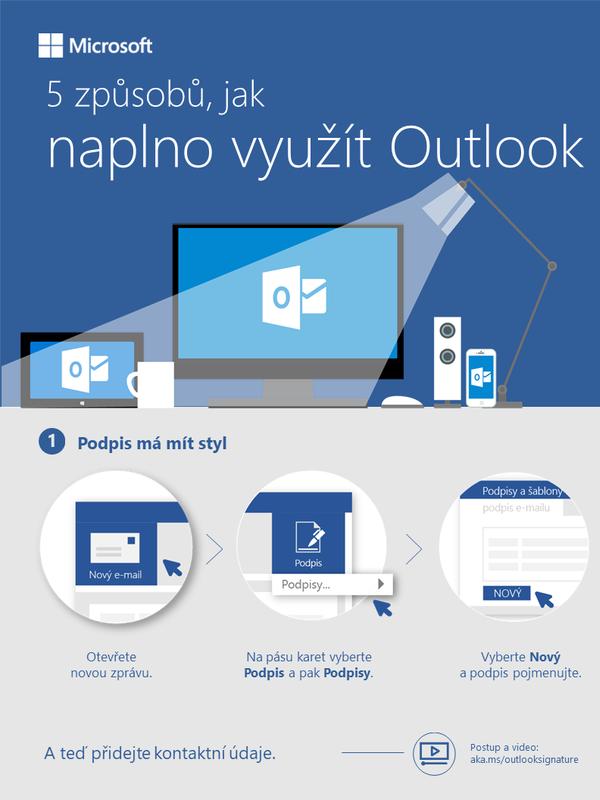5 způsobů, jak naplno využít Outlook