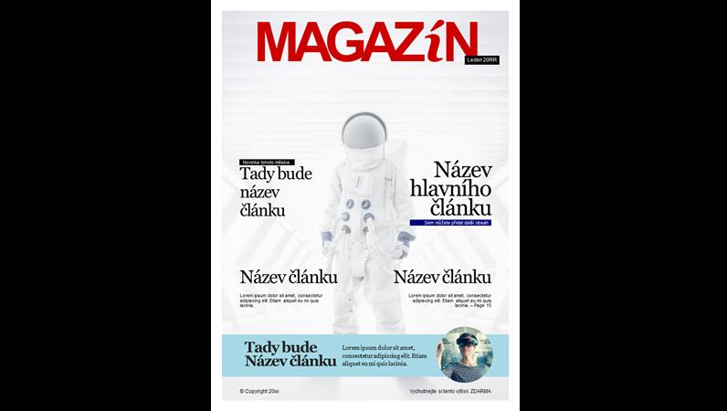 Titulní stránky časopisu