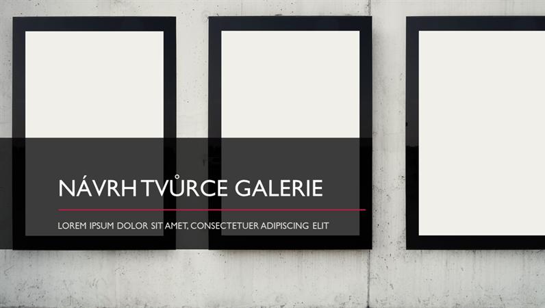 Návrh Tvůrce galerie