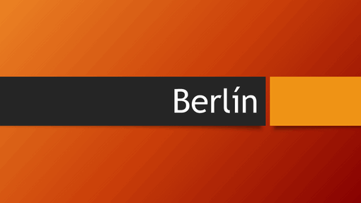 Berlínská oranžová