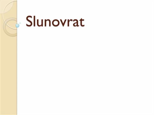 Slunovrat