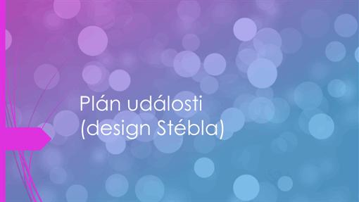 Plán události (design Stébla)
