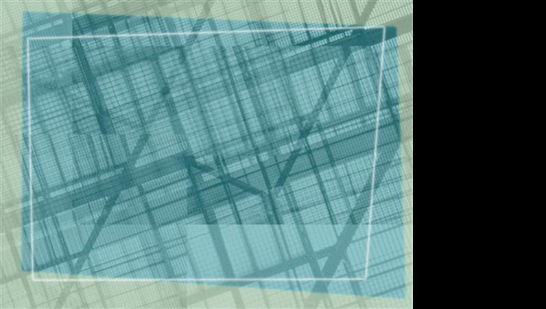 Geometrisk, designskabelon