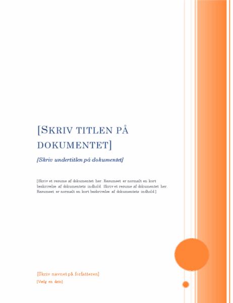 Rapport (temaet Karnap)
