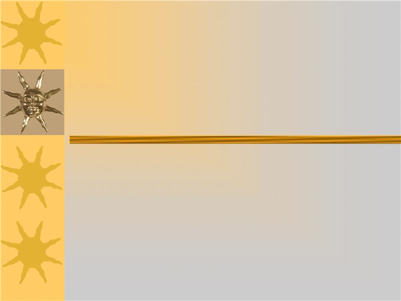 Solskinsdage, designskabelon
