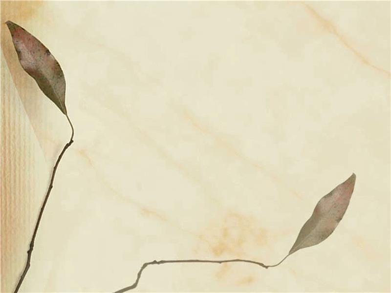 Pressede blade – designskabelon