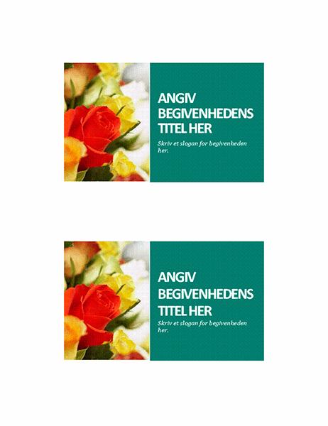 Begivenhedspostkort