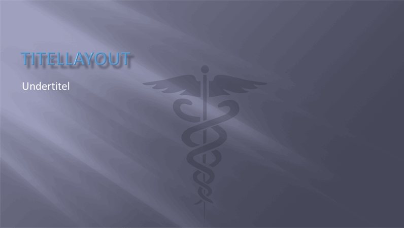 Designdias til lægepræsentationer