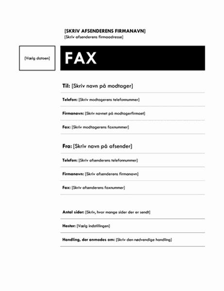Faxforside (mediandesign)