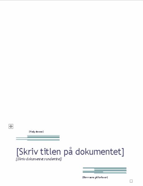 Rapport (urbandesign)