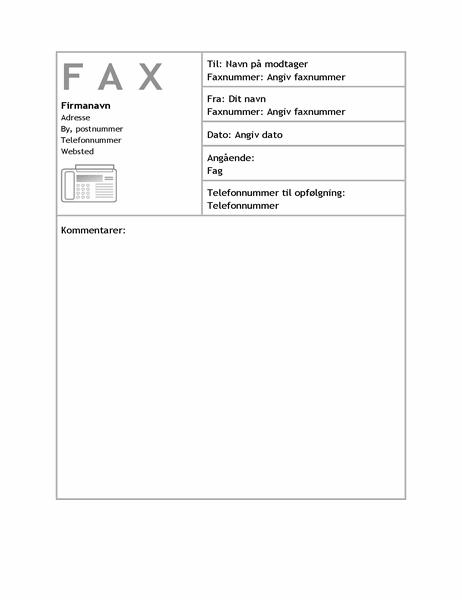 Faxforside (arbejde)