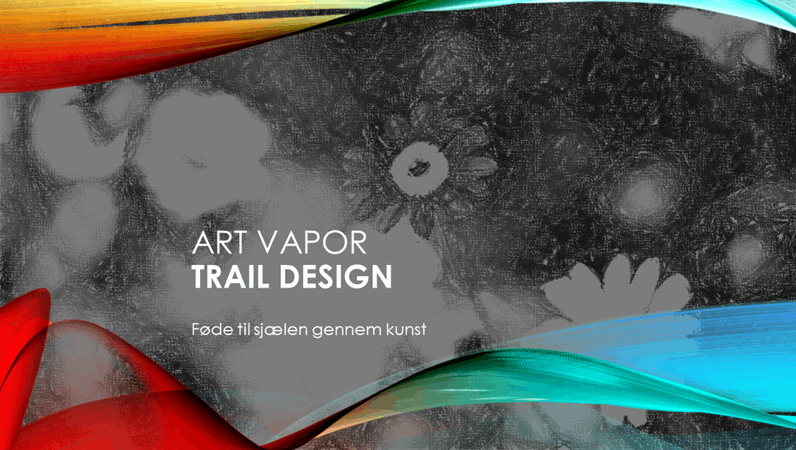 Kunst, Tågespor-design