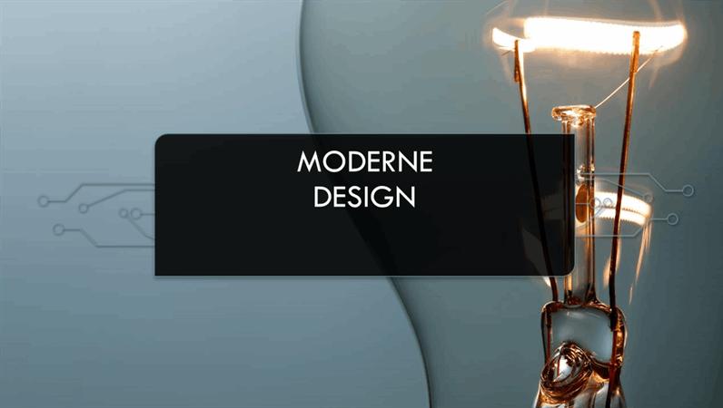 Moderne, Kredsløb-design