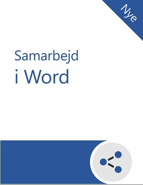 Selvstudie i samarbejde i Word