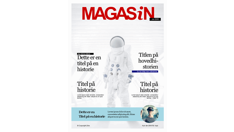 Omslag – magasin