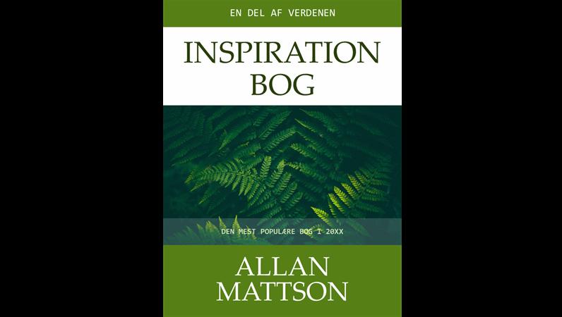 Omslag – inspirationsbog