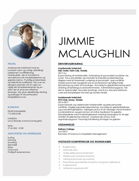 CV til logiadministration