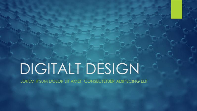 Digitalt design