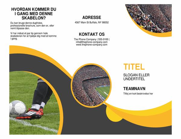 Sportsbrochure