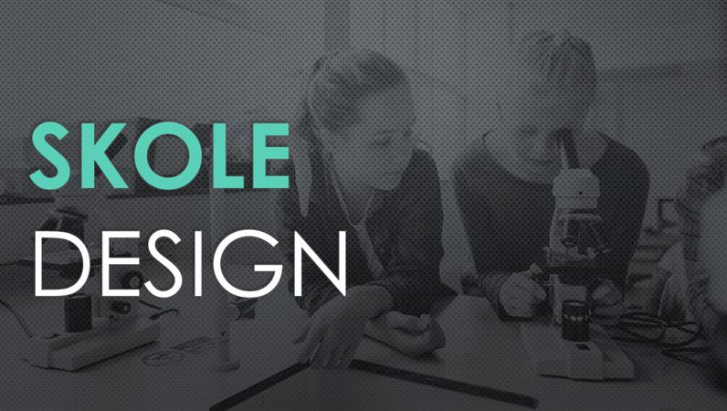 Skabelon til naturvidenskab i skolen med Trådnet-design