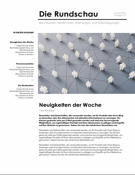 Firmennewsletter