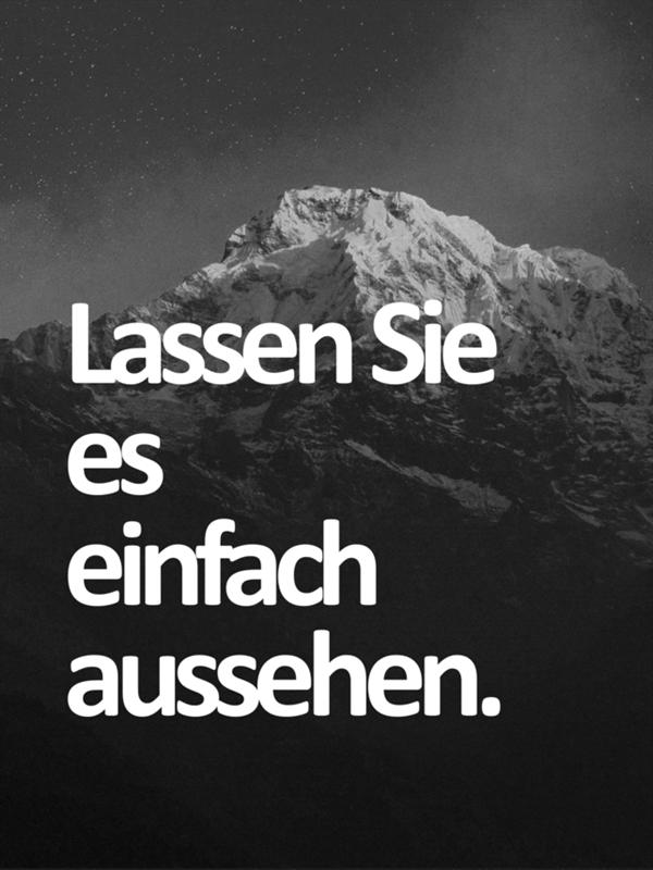 Schwarz-Weiß-Poster