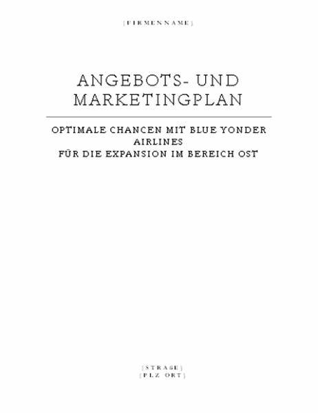 Geschäftsbericht (Elegantes Design)