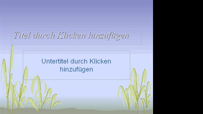 """Entwurfsvorlage """"Küste"""""""