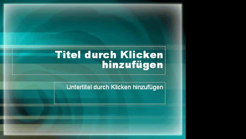 "Entwurfsvorlage ""Blaugrüne Höhle"""