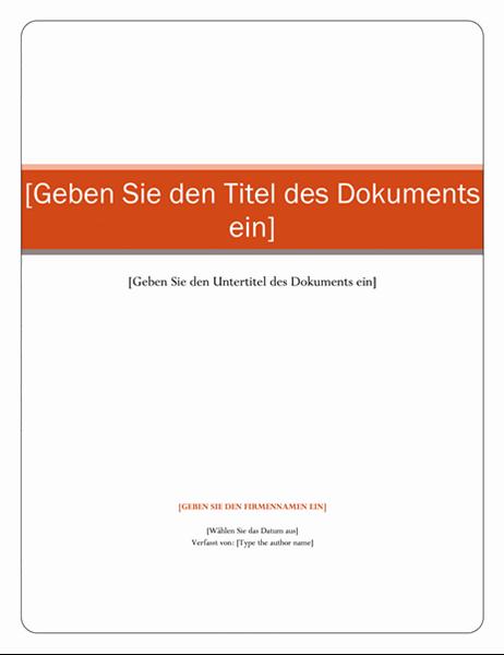 "Bericht (Design ""Dactylos"")"