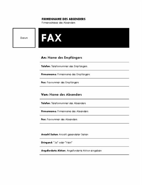 Fax (Median-Design)