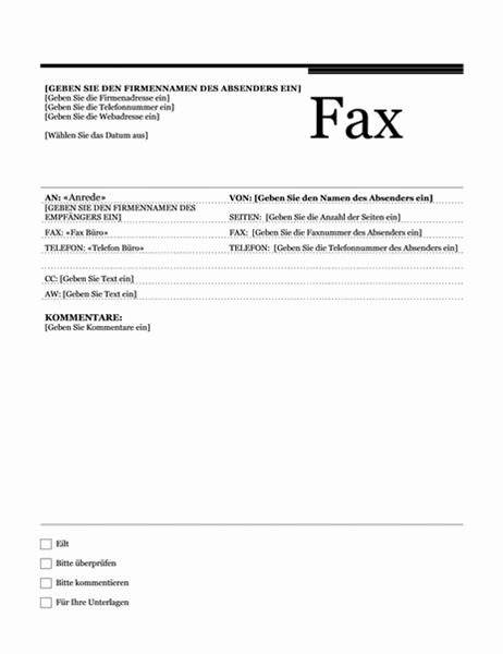 "Serienfax (Design ""Rhea"")"