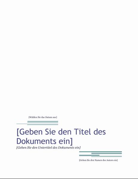 "Bericht (Design ""Rhea"")"