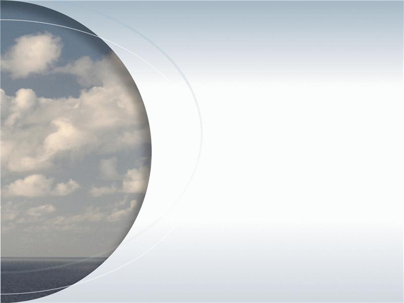 Bild in einem Halbkreis mit hervorgehobenen Bögen