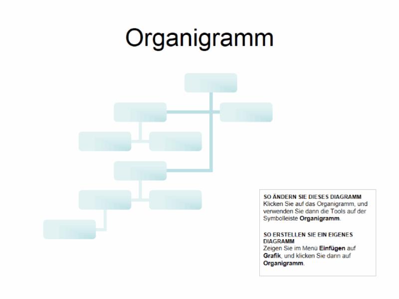 Komplexes Organigramm