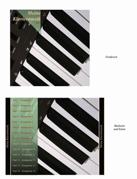 CD-Einlage (Design Klaviermusik)