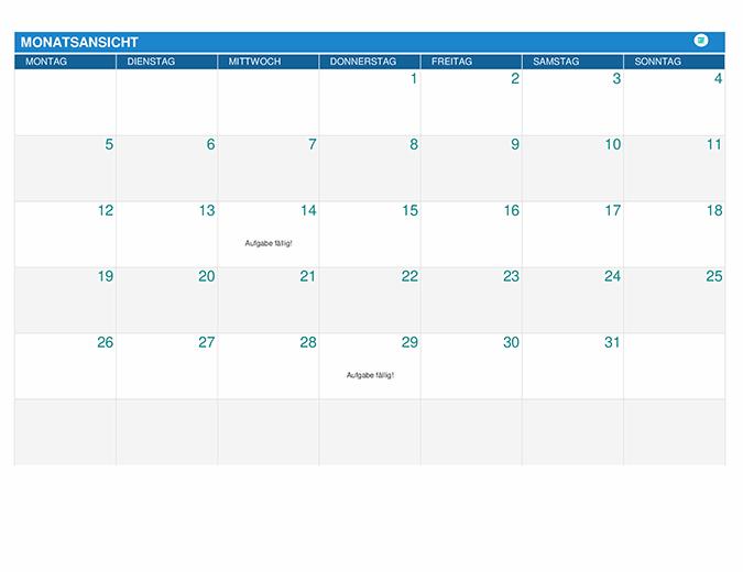 Aufgabenplaner für Studierende