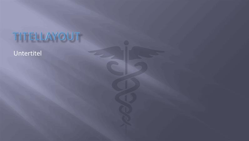 Designvorlagen für medizinische Präsentationen
