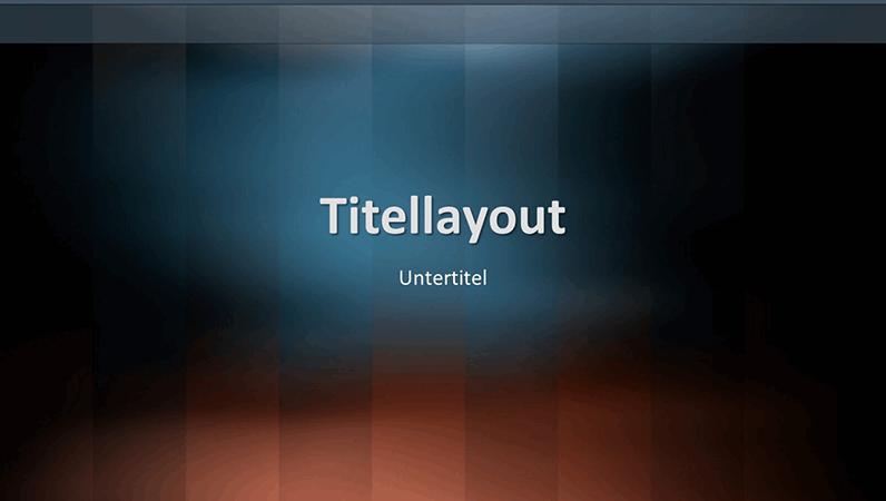 Vertikale Folien im Lexicon-Design